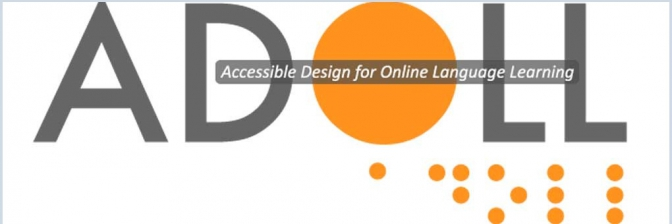 Logo de Accessible Design for Online Language Learning.