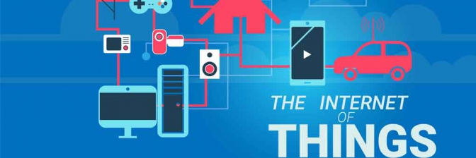 Logotipo IoT. The internet of things