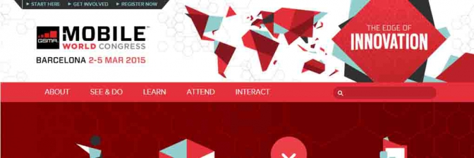 Portal web del Mobile World Congress
