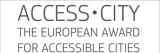 Detalle del logo Access City Award 2015.